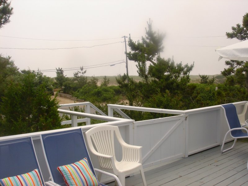 View of Dunes from Deck