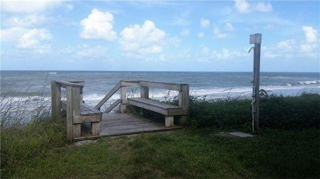 Private beach access from Ocean Club 1