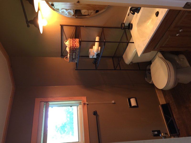 Recently remodeled bathroom