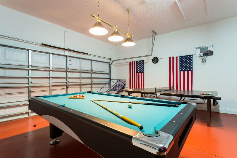 Garage Game Room