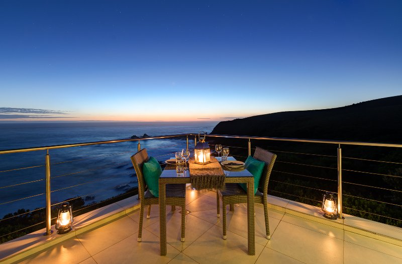 Dinner for two... with that view!