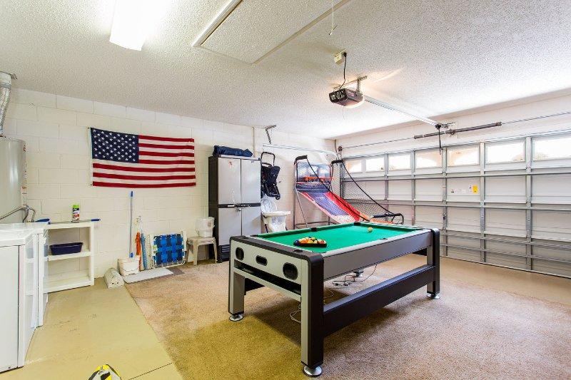 Garage Game Room