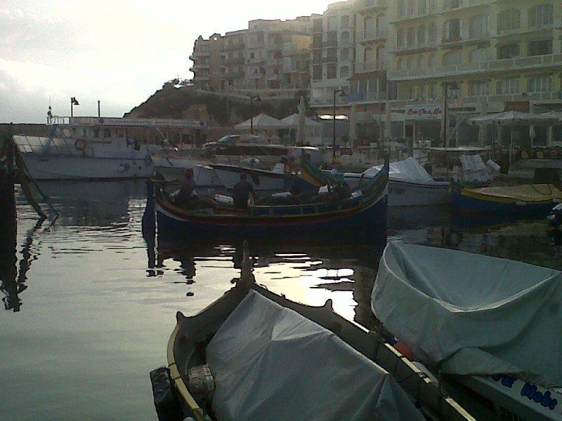 Porto di Marsalforn/Marsalforn harbour