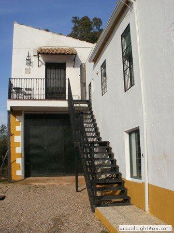 Acceso a la Casa Rural 'El Mirador'