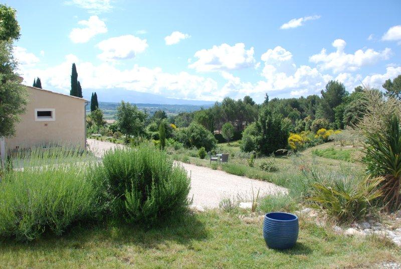 vista piscina del Mont Ventoux
