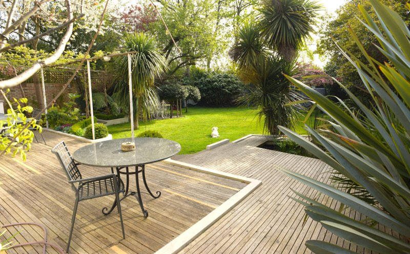 private secluded garden