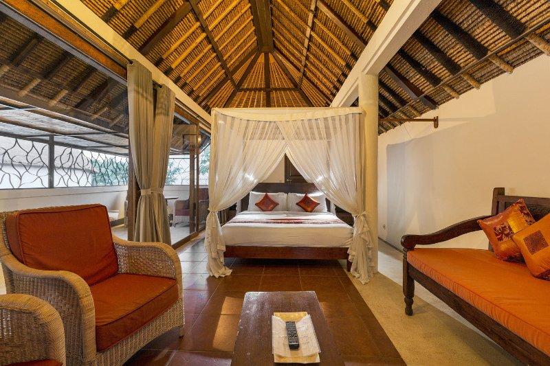 AkasaDua Villa chambre à l'étage ou peut quand une chambre réservé 7 est nécessaire.
