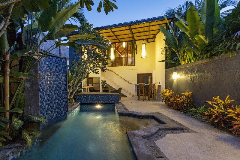 Bali Villa AkasaDua peut être réservé séparément 1 ou 2 chambres avec piscine privée.