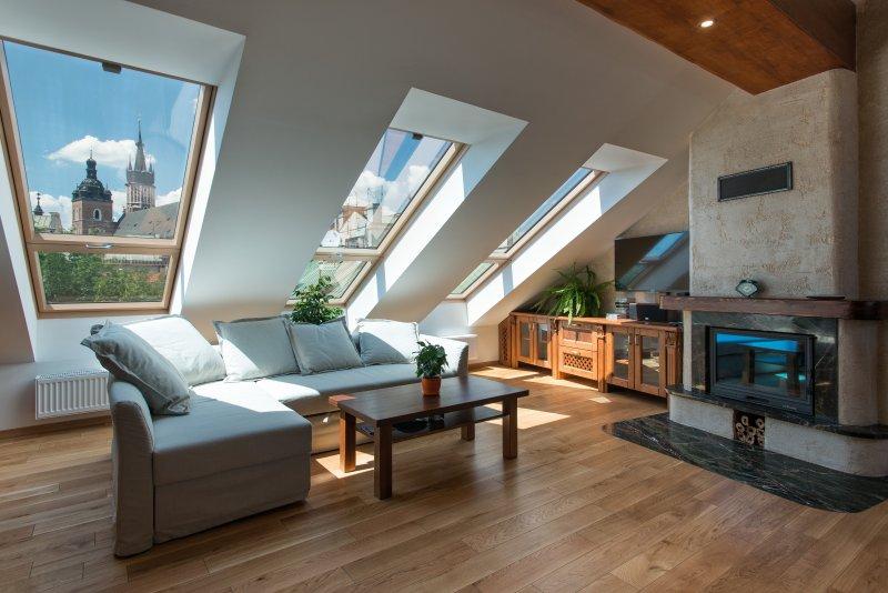 Wohnzimmer mit herrlichem Blick