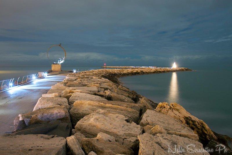 Pier in San Benedetto del Tronto