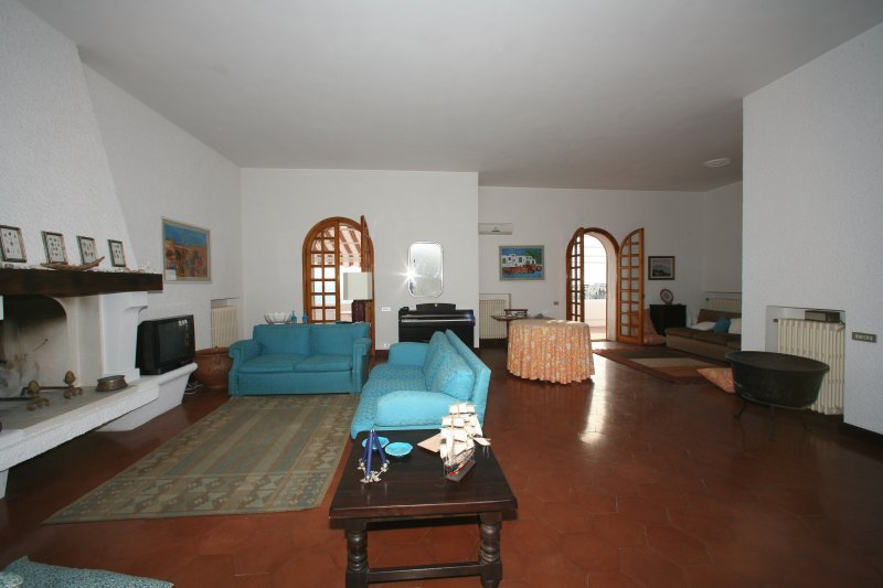large living room on the first floor with stunning sea views to enjoy from the two large balconies