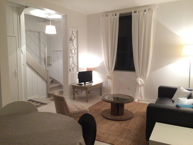 Maison Centre ville Meung/Loire (4 pers/2chambres), location de vacances à Saint-Ay