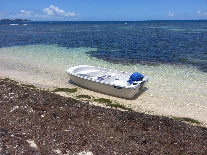 Dinghy available for rent once you booked