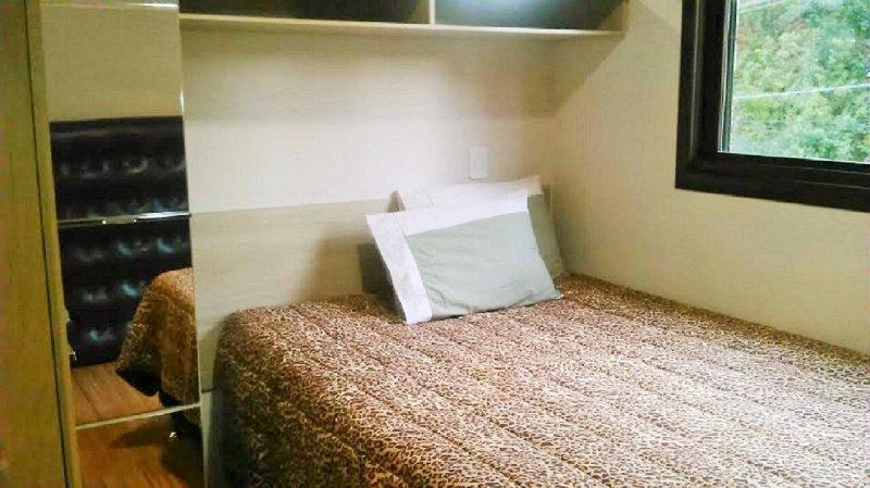 Box bed.