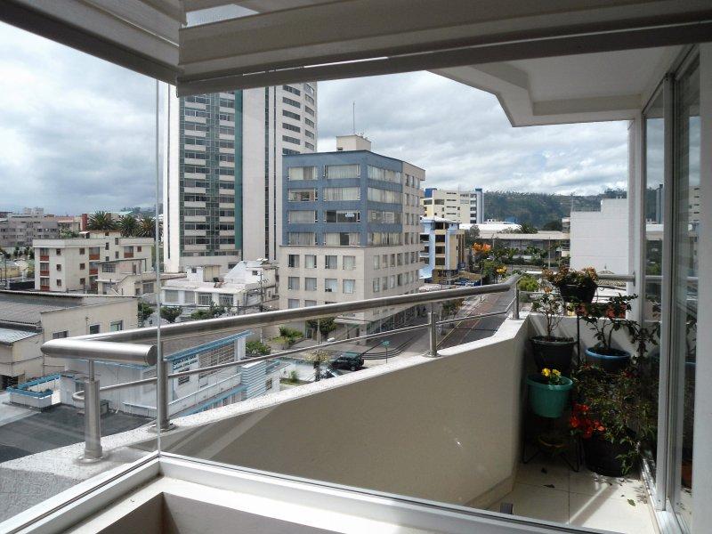 Vista de la ciudad desde el Balcón