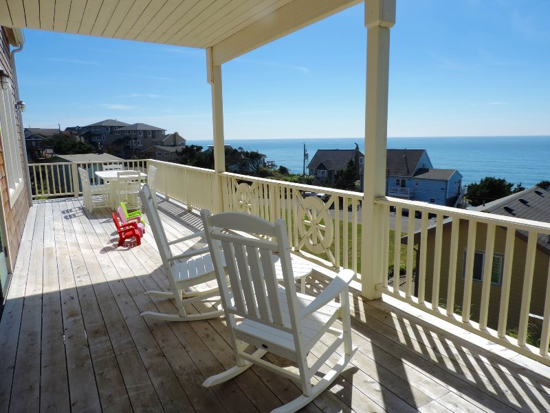 Enjoy gorgeous ocean views from the spacious wrap around decks!