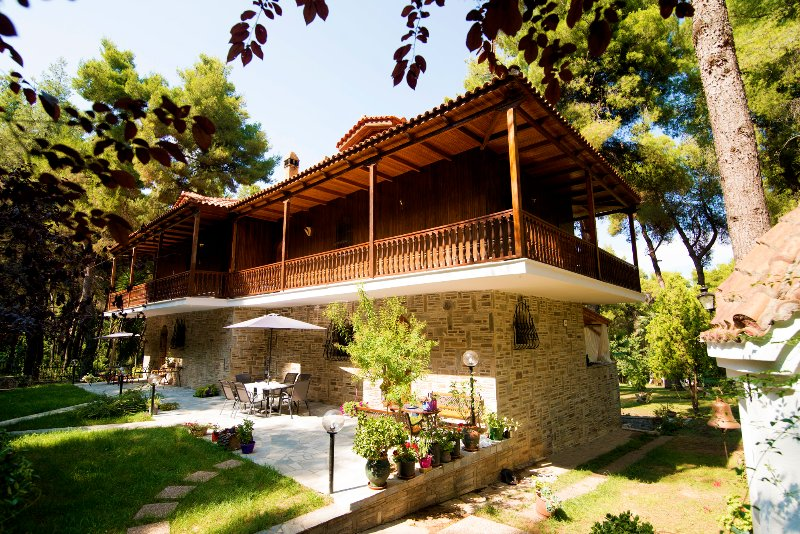 Sani Traditional Villa, location de vacances à Kassandra
