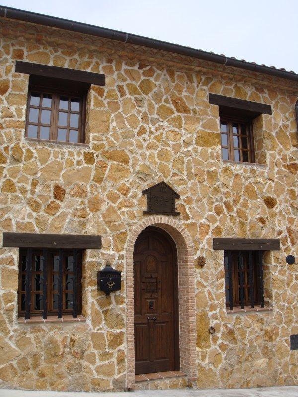 Fachada Casa RuralRut