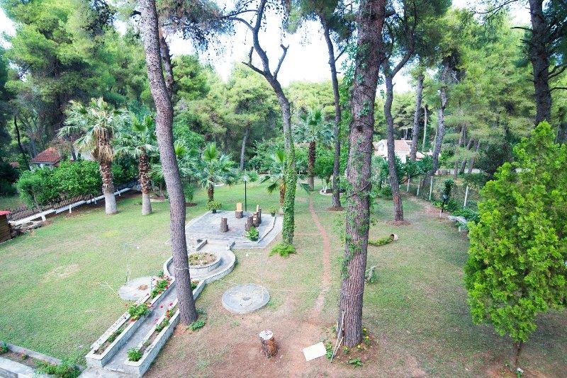 Do jardim do balcão