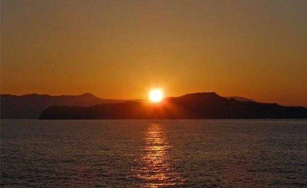 Agii Apostoloi sunset