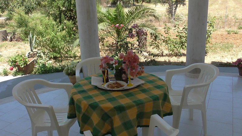 Casa di campagna con area recintata -Country house, holiday rental in Collepasso