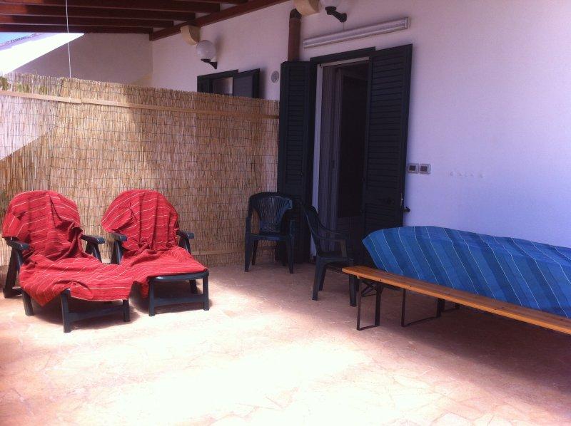 Salento 1: patio attrezzzato
