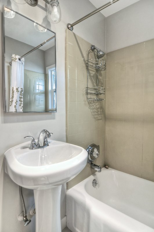 Bathroom #1 with shower/tub combination