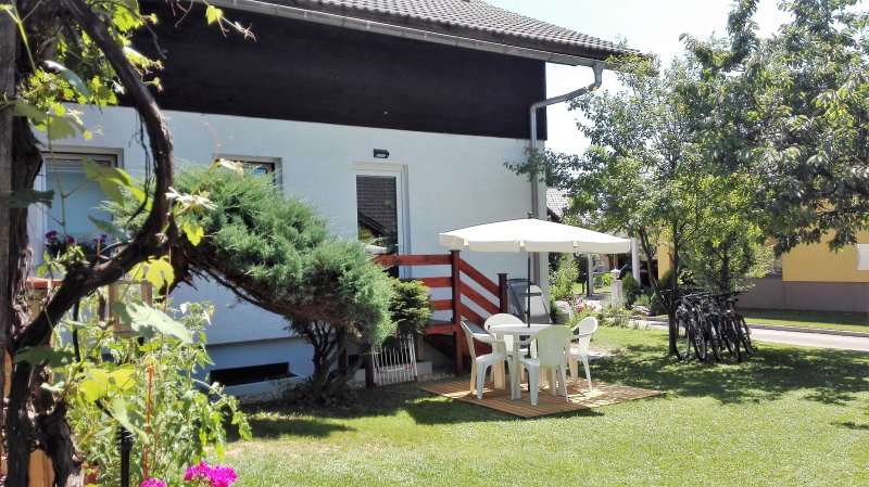 Modern, refurbished two bedroom apartment., vacation rental in Brezje