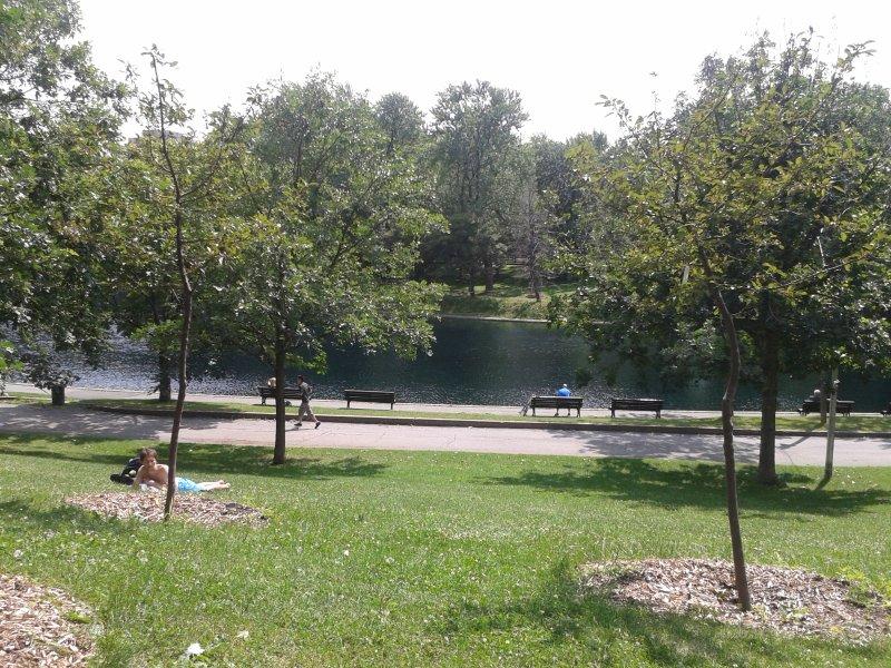 Parco Lafontaine a 2 minuti dallo studio