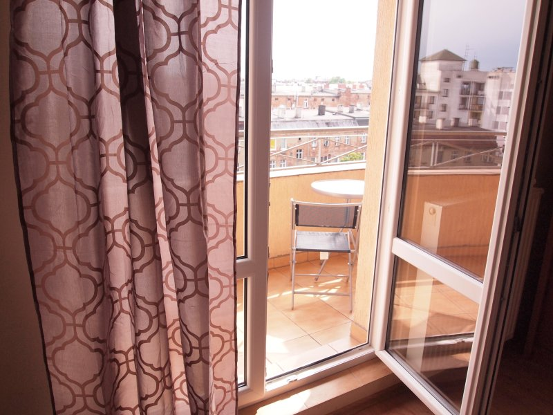 Apartamenty Centrum 75 sqm with balcony, casa vacanza a Bruessow
