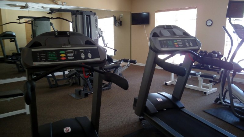 Fully Equipped Exercise Room