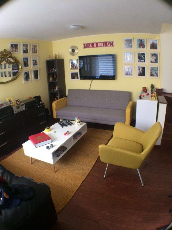 Living room. First floor.