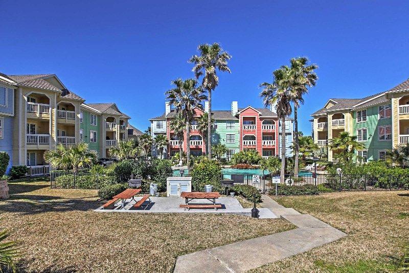 Bienvenidos a esta seductora condominio de alquiler en Galveston!
