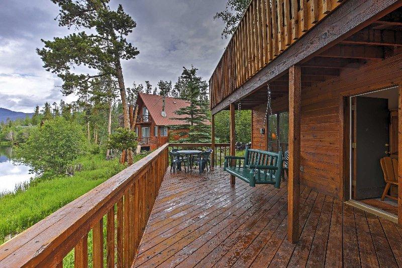 Dit fantastische Grand Lake vakantiewoning huis is het ultieme Rocky Mountain Escape!