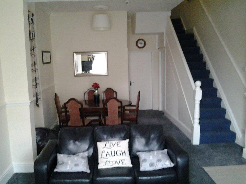 Fern Lodge lounge area