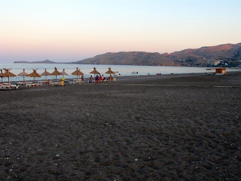 Summer Beach Kalathos tramonto