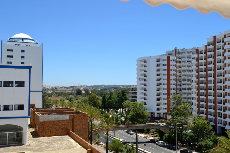 Lu's place, 1 bedroom apartment clean, simple, WIFI and AC, vacation rental in Praia da Rocha