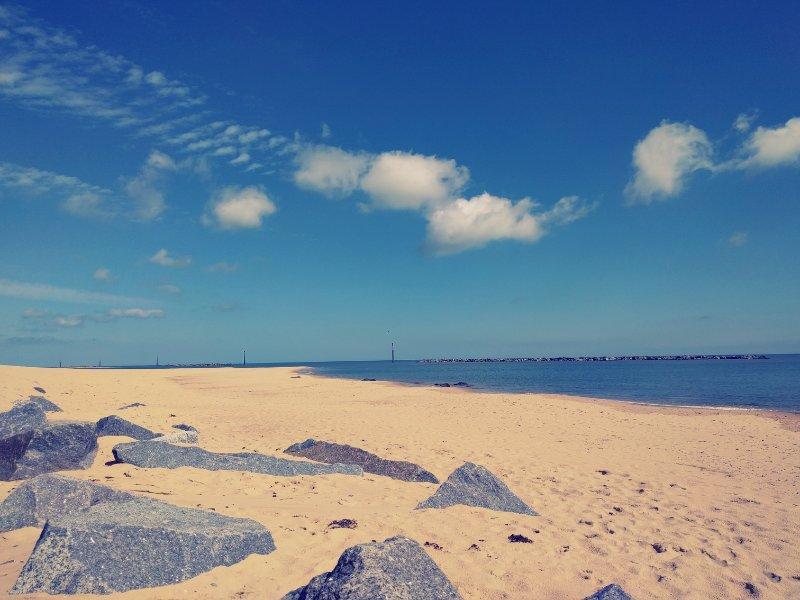 Sea Palling beach June 2016