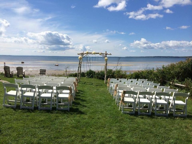 Another great wedding at the home on Buzzards Bay