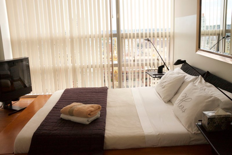 Master Bedroom with ensuite and King-Size Bed