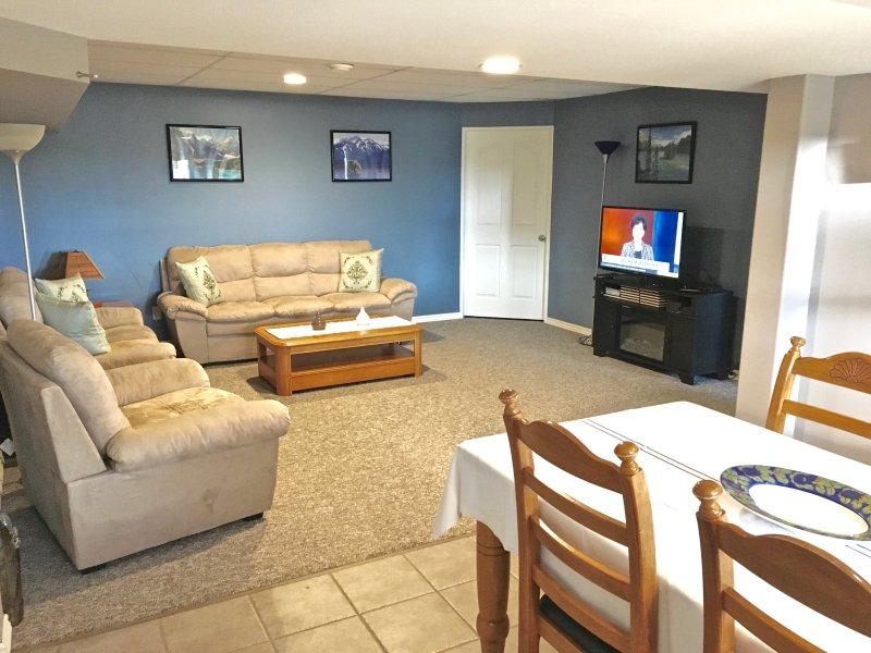 Smart TV plana, reproductor de Blue Ray, WiFi gratuito