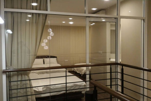 Master bedroom from outside