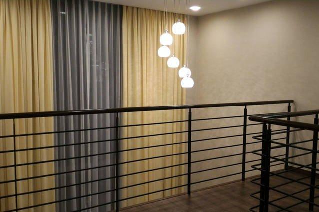 Mezzanine view from upper deck