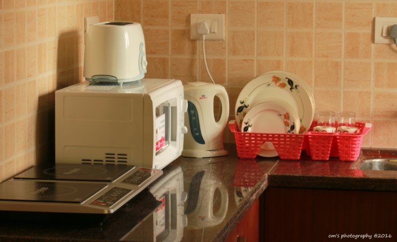 Well Equipped Kitchen With 'Masalas' too :-)