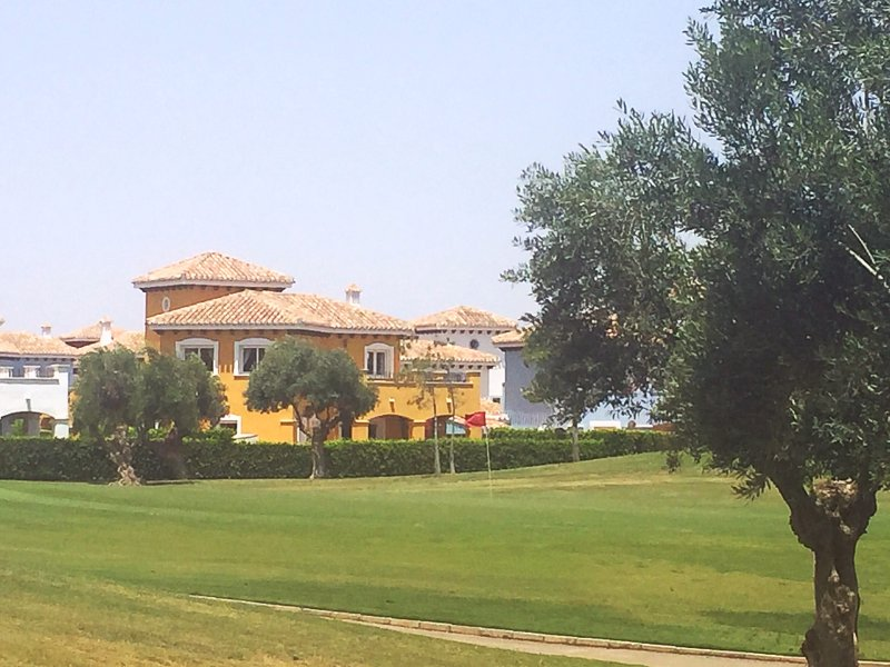 Villa from course