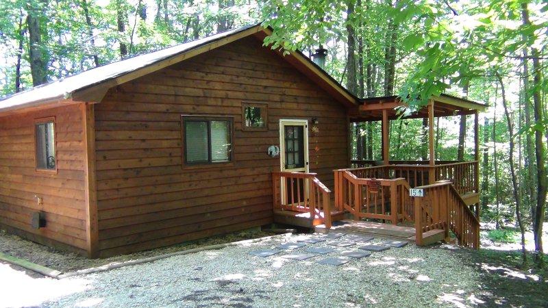 2BR/1BA Cabin Unplug Unwind & Relax Pet Friendly Cute & Cozy Cabin, casa vacanza a Sautee Nacoochee
