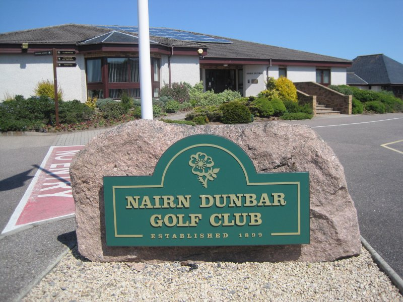 Nairn Dunbar Championship golf Course ( 2 minute walk)