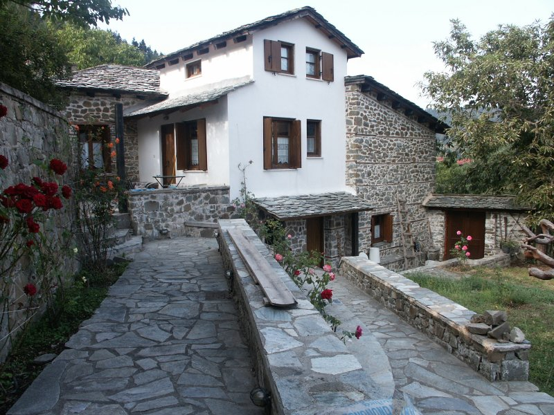 Luxury house in the mountain, vacation rental in Evrytania Region
