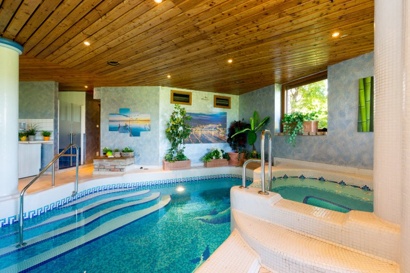 Luxury Private VILLA Budapest With Indoor Pool 8bdr, 6