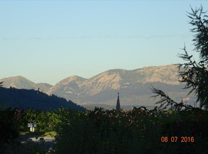 Mountain View desde el chalet en verano